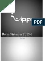 Becas Virtuales 2013