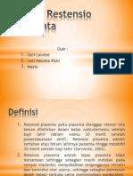 Askep Restensio Placenta