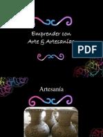 Emprender Con Arte y Artesanias INJUVE