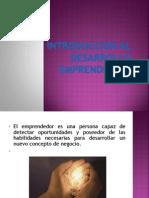 Introducción al Desarrollo emprendedorl unidad 1