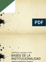 Bases de La Institucionalidad Cap 1 Art.1