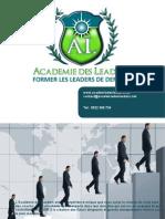 plaquette AcademiedesLeaders