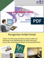 Tulisan/Artikel Ilmiah