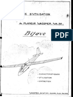 Notice d'utilisation du planeur Wassmer WA-30 Bijave (1960).pdf