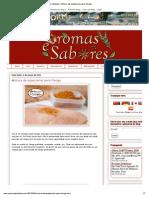 Aromas e Sabores_ Mistura de Especiarias Para Frango