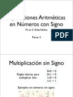 Aritmetica Numeros Con Signo 3