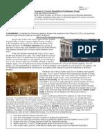 Mini-Lesson 2 French Revolution Crises Stage