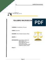 Word de Equilibrio Macroeconomico