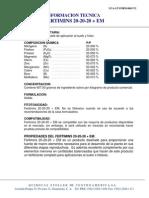 Composicion Quimica Del 20-20-20