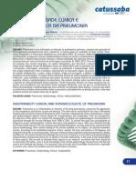 A Indissociabilidade Da Clinica e Epidemiologia Na Pneumonia