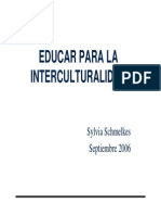 lainterculturalidadsegunsilviaschmelkes-101030202319-phpapp01
