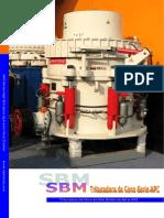 SBM HPC Trituradora Hidraulica de Cono