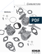 Kohler Carburetor Reference Manual TP-2377-E