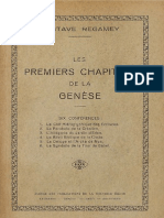Les Premiers Chapitres de la Genèse
