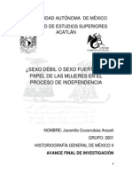 AVANCE FINAL DE INVESTIGACIÓN DE HISTORIOGRAFIA
