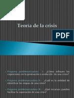 Teoría de la crisis