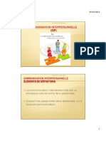 Cours Communication Interpersonnelle Ppt 04