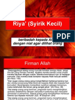 Riya' (Syirik Kecil).pdf
