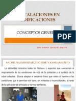 Instalaciones en Edificaciones-conceptos Generales