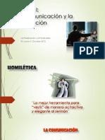 Unidad I Comunicación y Predicación