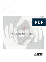 Formato Curricular Consejeros IFE