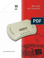 Opticom DSLink260E Manual Do Usuario Portugues Rev 4.1