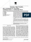 Modeling of Dynamics, Heat Transfer, And Combustion in Two-Phase Turbulent Flows 1. Isothermal Flows