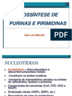 BIOSSINTESE PURINAS PIRIMIDINAS