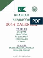 Abil Khair Organization @ Khanqah Khairiyyah 2014 Events Calendar