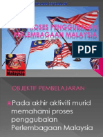 PROSES PENGGGUBALAN PERLEMBAGAAN MALAYSIA