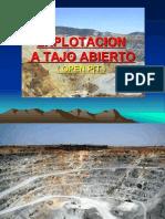 Explotacion a Tajo Abierto