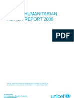 Unicef Humanitarian Action Report 2006