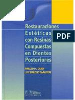 BARATIERI 2001 Restauraciones Estéticas con Resinas Compuestas en Dientes Posteriores