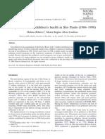Air pollution and children's health in Sao Paulo (1986–1998)  (só pra citar se for o caso)