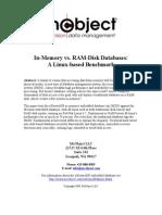 RAM-Disk vs. In-Memory Database Systems