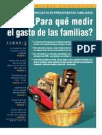 INE, Encuesta de Presupuestos Familiares