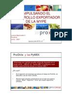 Pymes exportadoras