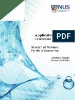 MSc Application booklet for NUS