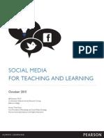 Seamean,J.2013 Social Learning in Higher Education 2013 Report