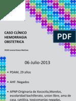 Caso Clinico Atonia