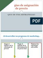 Estrategias de asignación de precio diapositivas