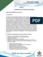 Tema 6. Procedimiento Para La Ejecucion de Auditoria