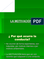 Motivación - Motivos Sociales