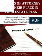 Powers of Attorney and their Place In Your Estate Plan