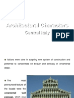 2)Arch Characters of Italy