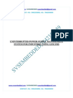 243.Uninterrupted Power Supply Management System for Industries Using Gsm Sms