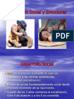 Clase 11 - Desarrollo Social y Emocional