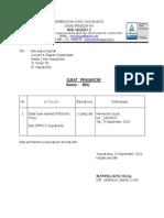 Surat Pengantar 2013