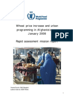 Wheat price increase and urban programming in Afghanistan, January 2008 - Rapid assessment mission report