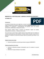 MEMORIA DE LA VISITA REALIZADA  DURACRETO.pdf